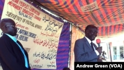 In his first speech since he was pardoned by President Salva Kiir, South Sudan opposition leader Lam Akol gave a public speech at the University of Juba.