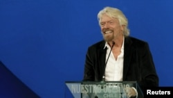 Le patron de Virgin Group, Richard Branson