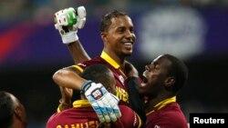 Cricket - West Indies v India - World Twenty20 cricket tournament semi-final