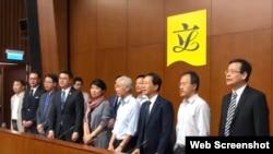 香港民主派立法會議員回應馬凱被港府拒絕入境。(網絡截圖)