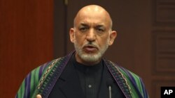Afghan President Hamid Karzai, December 12, 2012.