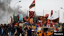 Irak: des milliers de manifestants rassemblés dans les rues