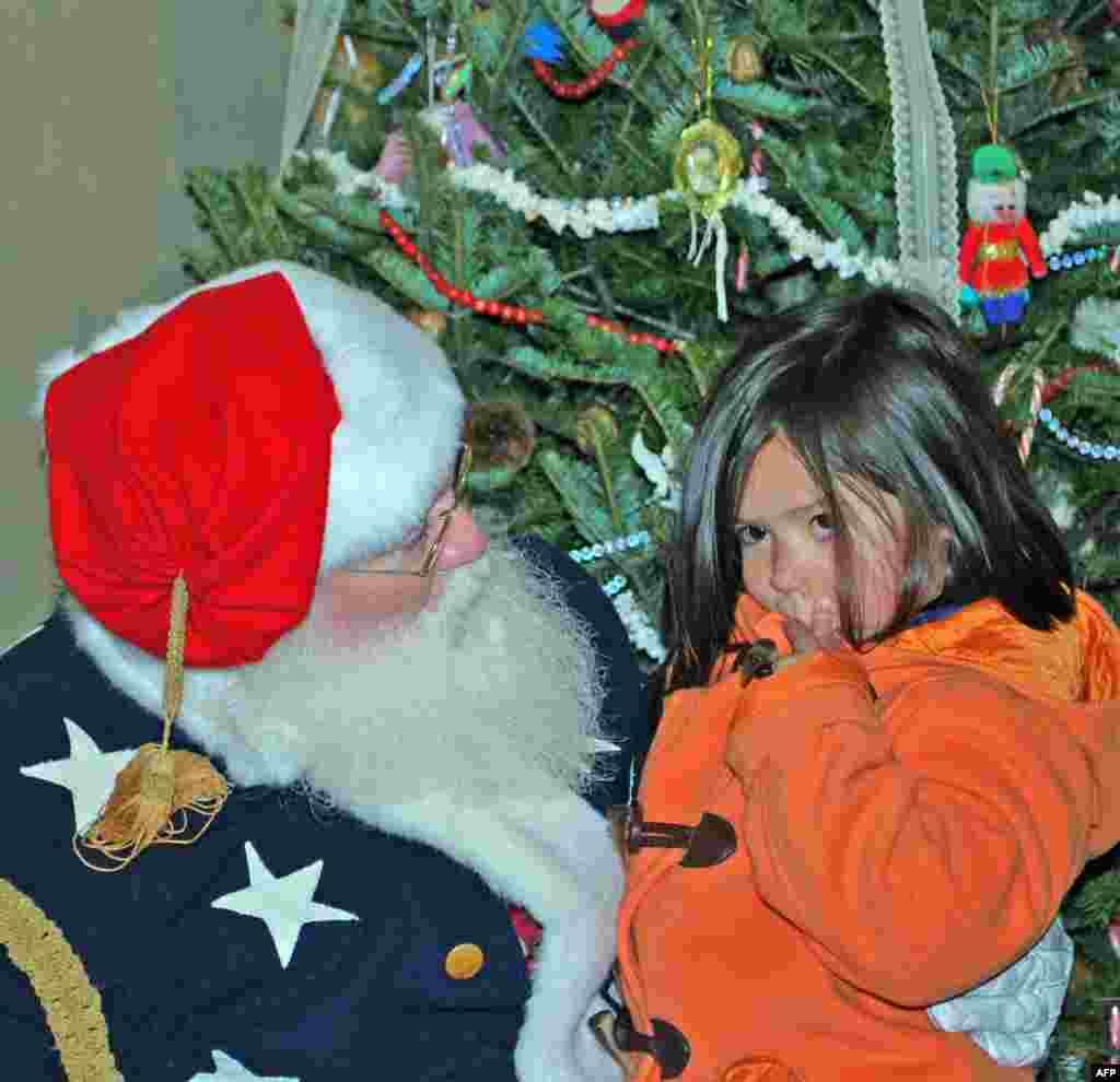 Рождество в военном лагере