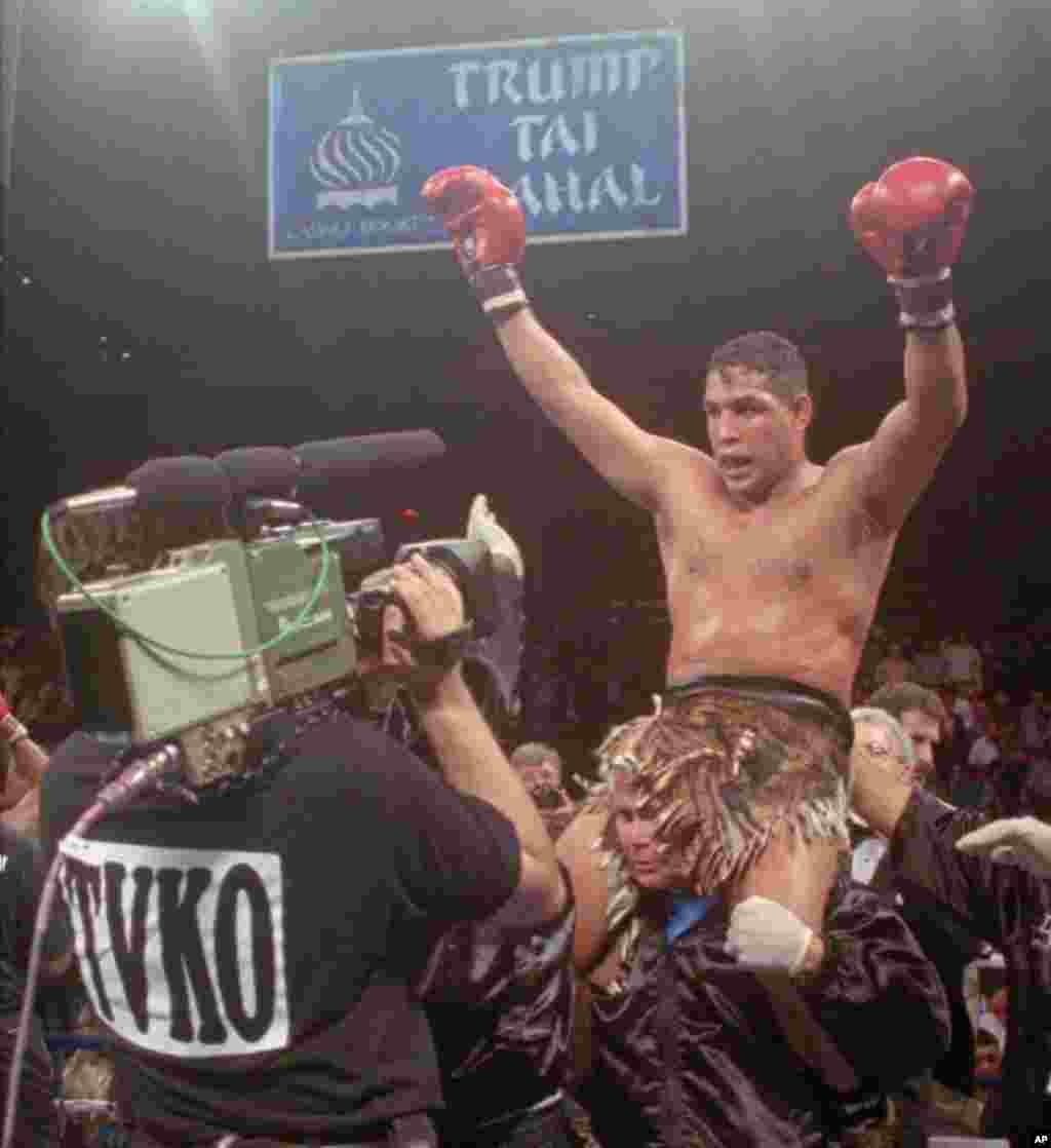 """El boxeador Hector """"Macho"""" Camacho falleció por una herida de bala que le provocó muerte cerebral, el 24 de noviembre."""