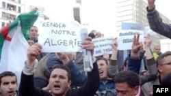 Ալժիրի ոստիկանությունը փորձել է ցրել բողոքի ցույցերը