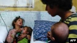 Serangan di kawasan pemberontak di Ghouta timur menewaskan warga sipil, termasuk anak-anak 22 Januari lalu (foto: dok).