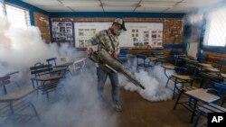 Nikaraguada Zikaga qarshi profilaktika ishlari