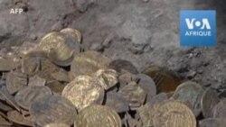 Des pièces d'or vieilles de 1.100 ans découvertes en Israël