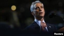 El alcalde de Chicago, Rahm Emanuel, deberá ir a segunda vuelta contra un hispano.
