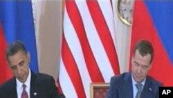 새 START 협정에 서명하는 미국-러시아 정상 (자료사진)