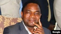 Hakainde Hichilema of Zambia