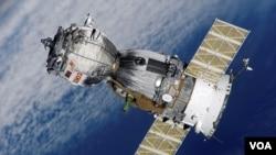 Pesawat antariksa Rusia, Soyuz berhasil mendarat di Kazakhstan hari ini.