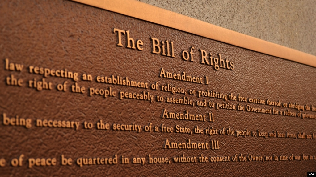 What Does the Bill of Rights Say