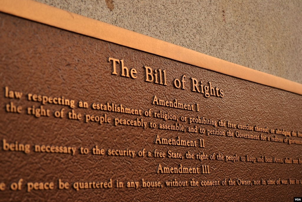 First Amendment to the United States Constitution