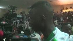 Déclaration de Alfaga, le champion du monde nigérien de Taekwando, à son retour à Niamey (vidéo)