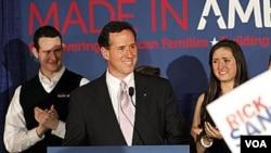 El ex senador por Pennsylvania, Rick Santorum, sigue siendo el preferido de los votantes de la base conservadora del Partido Republicano en el sur del país.