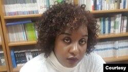 Umushakashatsi Nadine Mumporeze