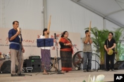 Philippine musicians at 2010 Folklife Festival in Washington DC