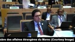 32ème session ordinaire du Conseil Exécutif du bloc panafricain, à Addis-Abeba, 26 janvier 2018. (Twitter/Ministère des affaires étrangères du Maroc)