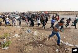 Mosulliklar qo'shni Kurdiston muxtoriyatiga qochayapti.