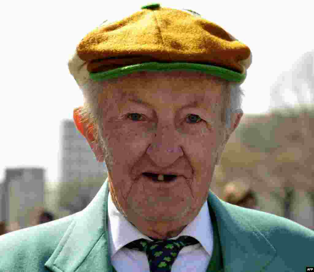 День святого Патрика – парад «зеленых»