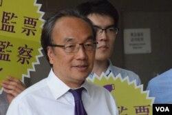 公民党党魁梁家杰(美国之音/汤惠芸)
