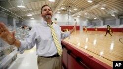Ông Shannon Eubanks, hiệu trưởng một trường học ở Brookhaven, Mississippi.