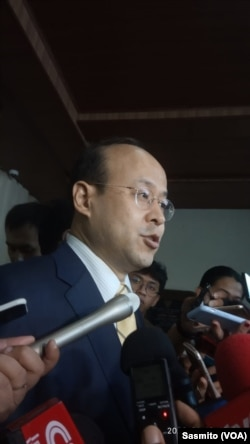 Duta Besar China untuk Indonesia, Xiao Qian. (Foto: VOA/Sasmito)