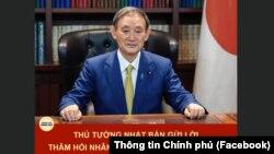 Tân Thủ tướng Nhật Bản Suga Yoshihide sẽ tới thăm Việt Nam trong chuyến công du nước ngoài đầu tiên của ông thay vì Hoa Kỳ như những người tiền nhiệm của ông đã làm với đồng minh thân cận nhất. (Facebook Thông tin Chính phủ)