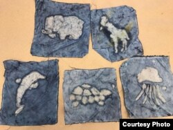 Hasil karya batik anak-anak di Washington, D.C (dok: Wita Salim)