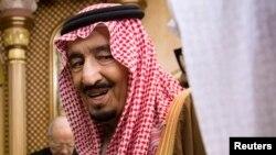 Mfalme Salman wa Saudia. Riyadh, Jan. 24, 2015.