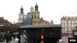 Центр Праги, Чехия (архивное фото)