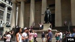 مرکز مالی آمریکا موسوم به وال استریت