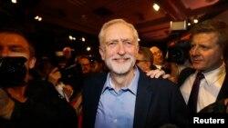 Jeremy Corbyn sabon shugaban jam'iyar Labor, Sept. 12, 2015.