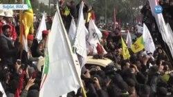 Kasım Süleymani İçin Irak'ta Cenaze Töreni Düzenlendi