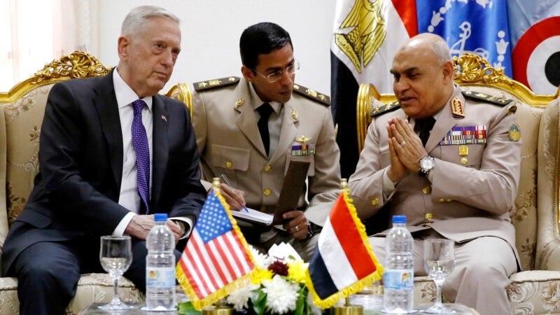 Menteri Pertahanan AS Kunjungi Mesir