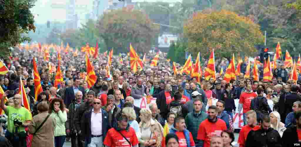 Граѓански марш во Скопје