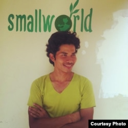 Thul Rithy, founder of Phnom Penh-based co-working spaces SmallWorld and Emerald Hub. (Courtesy of Thul Rithy)