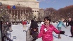 Kegiatan Warga Amerika di Musim Dingin (Bagian 1) - Dunia Kita Februari 2012