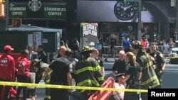 Policija blokirala mjesto nesreće