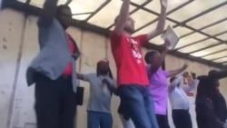 Mourners Celebrate Life of Zimbabwe Opposition Leader Morgan Tsvangirai at Unity Square, Harare