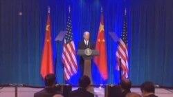 拜登:中国设立东海防识区引发地区忧虑