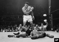 Muhammad Ali died in 2016 at the age of 74.