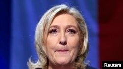 Mgombea Marine Le Pen, wa chama cha French National Front (FN)