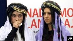 Надя Мурад и Ламис Хаджи Башар