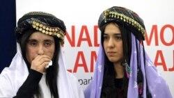 ဥေရာပလႊတ္ေတာ္ရဲ႕ Sakharov ဆု Yazidi အမ်ိဳးသမီး ၂ ဦးရရိွ