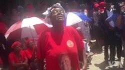 MDC-T Supporter Praising Late Leader Morgan Richard Tsvangirai