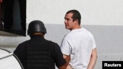 Sersan Andrew Tahmooressi, saat ditangkap di Meksiko (Foto: dok).