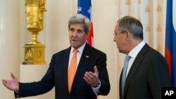 Джон Керри и Сергей Лавров. Москва, 15 июля 2016г.