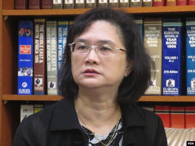 台湾外交部发言人王珮玲
